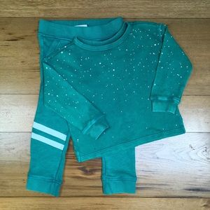 NWT Gymboree Girls Sweatshirt and Joggers